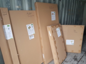 Delivery of Axi Pragma Playhouses
