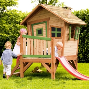 Step by step construction video Self Assembly Playhouses